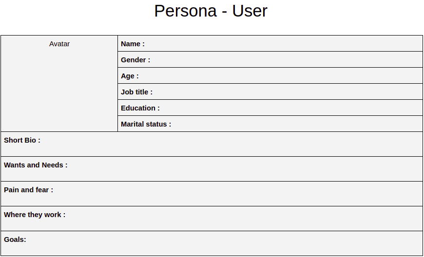 What is Persona