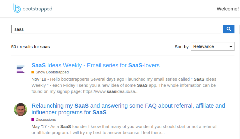saas-bootstrapped-group